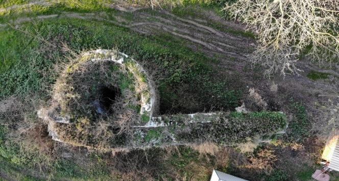 Bizanslılar tarafından yapılan 800 yıllık kale tarihe tanıklık ediyor