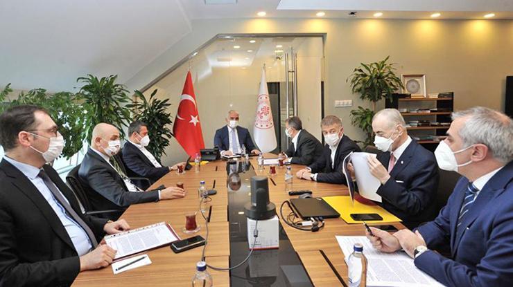 Kulüpler Birliği Yönetim Kurulu, Kültür ve Turizm Bakanı Mehmet