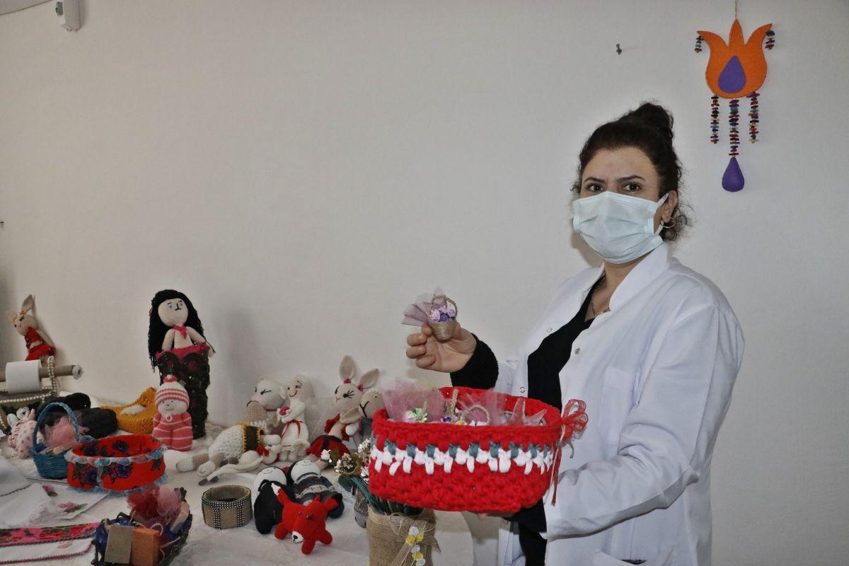 Mardin de açılan kurslarda 1100 kadın meslek sahibi oldu #1