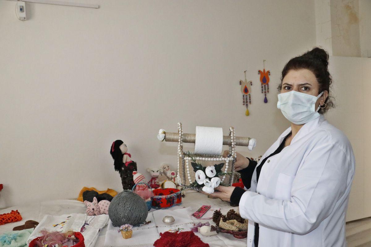 Mardin de açılan kurslarda 1100 kadın meslek sahibi oldu #2